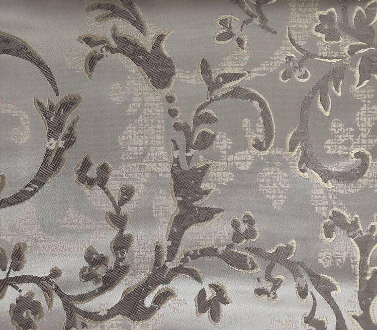 Distinctive Decorative Jacquard Fabric with a Lush Drape Home Textile Drapery Fabric Wholesale H19032A