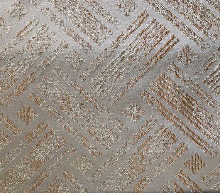 Elegant High-Warp Density Basket-Weave Woven Furnishing Fabric H19122E