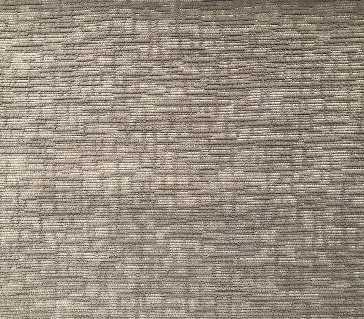 Curtain Material Distinctive Plush Geometric Chenille Woven Fabric LT17021C