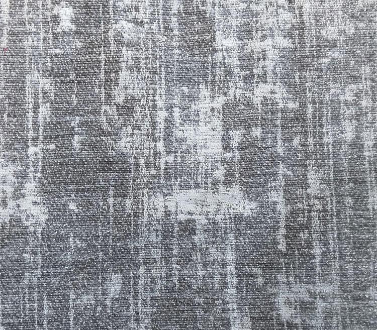 Abstract Elegant Modern Chenille Jacquard Fabric LT19009A