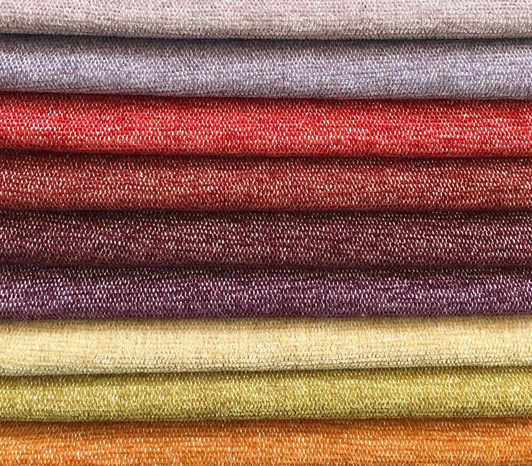 Home Decor Fabric Two-Toned Textured Upholstery Fabrics Couch Sofa Fabric Wholesale S19043A
