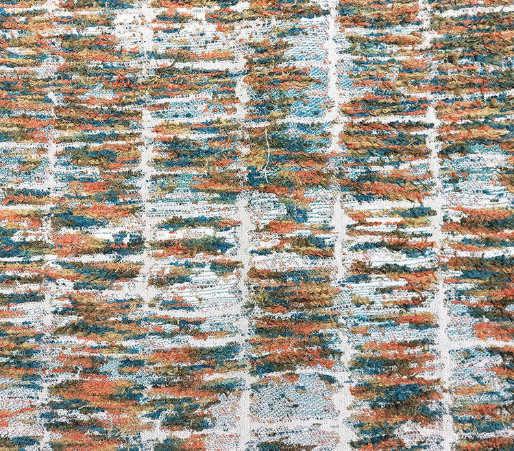 Classic Lattice Pattern Section-Dyed Chenille Fabric S19050A