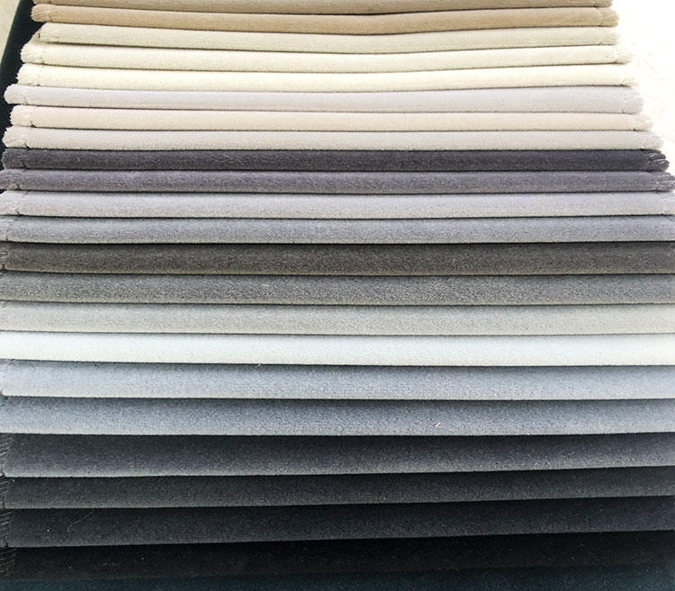 Australian Wool-Like Luxury Velvet Upholstery Fabric for Sofa WD19056A