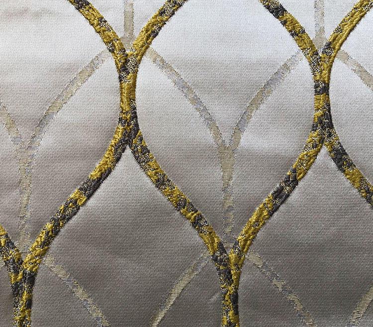 Home Furnishing Textiles Modern Geometric Soft-touching Woven Fabrics  H19124C