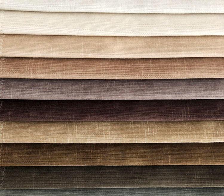 Custom Metallic Effect Printing Luxury Velvet Upholstery Fabrics Wholesale WD19156A