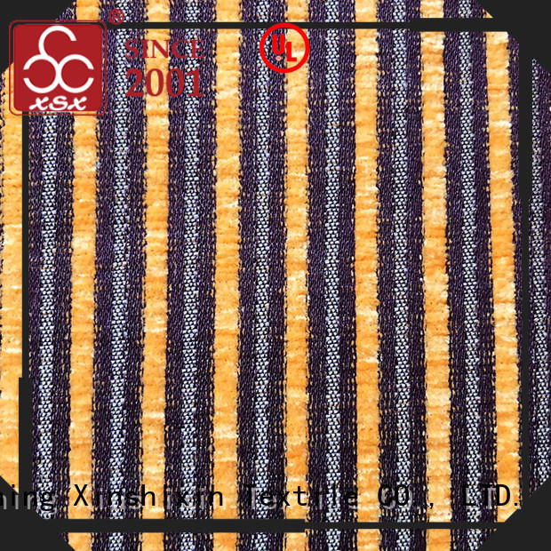 XSX floral curtain fabric outlet manufacturers for home-furnishing